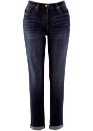 Boyfriend Stretch-Jeans, bpc bonprix collection, dark denim