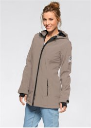 Funktions-Softshell-Jacke, bpc bonprix collection, taupe
