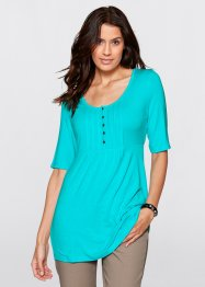Shirt, Halbarm, bpc bonprix collection, aqua