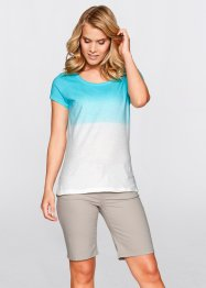 Dipdye-Shirt, bpc bonprix collection, aqua