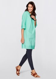 Tunika-Kleid, bpc bonprix collection, mentholblau