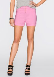 Highwaist Shorts, RAINBOW, rosa