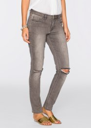 Jeans mit Schlitzen, BODYFLIRT, grey denim