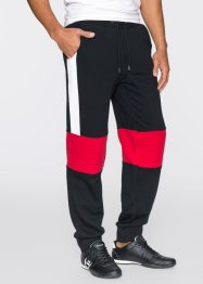 Pantalon sweat Slim Fit, RAINBOW, noir/blanc/rouge