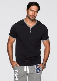 T-Shirt Regular Fit, bpc bonprix collection, schwarz