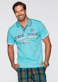 Poloshirt Regular Fit, bpc bonprix collection, aqua