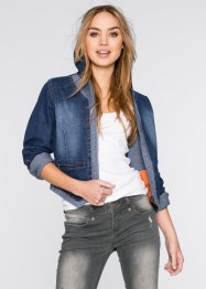 Veste en jean, RAINBOW, dark denim
