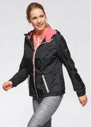 Veste outdoor ultra-légère, bpc bonprix collection, noir