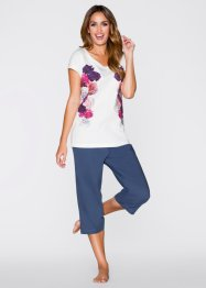 Capri Pyjama, bpc bonprix collection, bedruckt