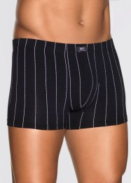 Lot de 3 boxers, bpc bonprix collection, noir/blanc rayé