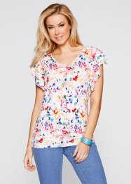 Kurzarm-Shirt, bpc bonprix collection, mattpink