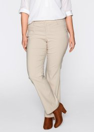 Stretchbyxa, bootcut, bpc bonprix collection, kiselbeige