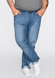 Jeans Slim Fit Straight, RAINBOW, medium blue bleached