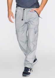 Cargo-Schlupfhose Loose Fit Straight, bpc bonprix collection, hellgrau