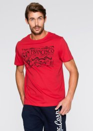 T-Shirt Regular Fit, bpc bonprix collection, rot