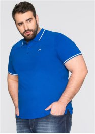 Poloshirt, Regular Fit, bpc bonprix collection, azurblau