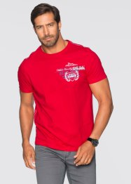 T-Shirt Regular Fit, bpc selection, rot