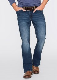 Stretch-Jeans Regular Fit Bootcut, John Baner JEANSWEAR, blau