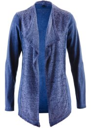 Shirtjacke, bpc selection, indigoblau