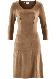 Kleid in Stretch-Qualität, bpc bonprix collection, camel