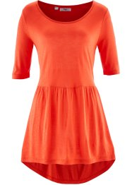 Vokuhila-Shirt, bpc bonprix collection, blutorange