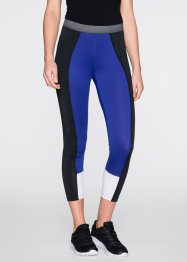 Funktions-Leggings, wadenlang, bpc bonprix collection, saphirblau