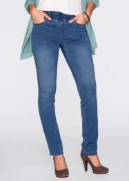 Schlupf-Power-Stretch-Jeans, STRAIGHT, John Baner JEANSWEAR, blau