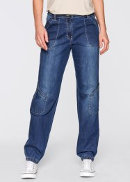 Stretchjeans, vid modell, bpc bonprix collection, blue stone