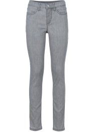 Super-Stretch-Jeans, BODYFLIRT, light grey denim