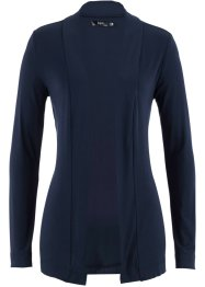 T-Shirtjacke, bpc bonprix collection, dunkelblau