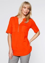 Shirt, Halbarm, bpc bonprix collection, blutorange