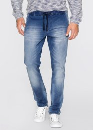 Sweat-Jeans Regular Fit, John Baner JEANSWEAR, blau