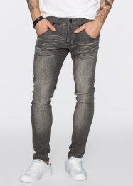 Super-Stretch-Jeans Skinny Fit Straight, RAINBOW, light grey denim used