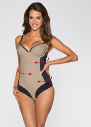 Formbody, bpc bonprix collection, schwarz/beige