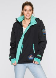 Veste fonctionnelle outdoor, bpc bonprix collection, noir