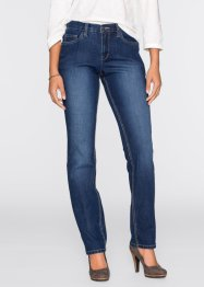 Stretch-Jeans STRAIGHT, Recycle, John Baner JEANSWEAR, dunkelblau
