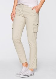Boyfriend-Chino, bpc bonprix collection, kieselbeige