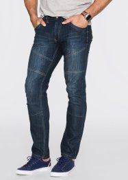 Jeans Regular Fit Straight, John Baner JEANSWEAR, dunkelblau used