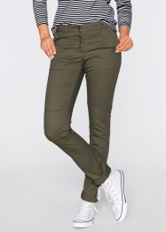 Chino-Cargohose, bpc bonprix collection, dunkeloliv