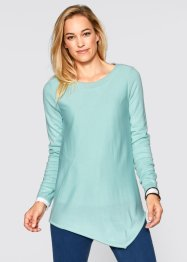 Pullover, Langarm, bpc bonprix collection, aquapastell