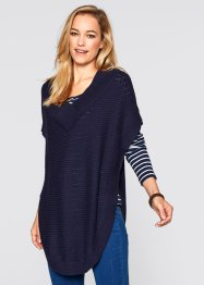 Poncho, bpc bonprix collection, dunkelblau