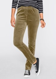 Stretch-Cord-Leggings, bpc bonprix collection, dunkeloliv