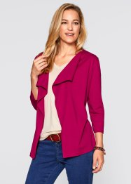 Shirtjacke, bpc bonprix collection, beerenrot