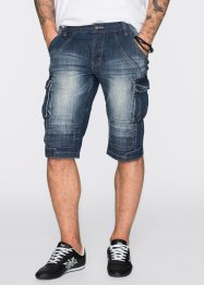 Jeans Longbermuda Regular Fit, RAINBOW, dark blue stone used