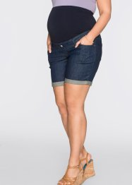 Umstands-Jeansshorts, bpc bonprix collection, darkblue stone