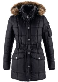 Parka, bpc bonprix collection, schwarz