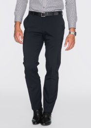 Hose mit Schurwolle Slim Fit, bpc selection, dunkelblau