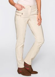 Bengalin-Stretchhose, bpc bonprix collection, kieselbeige