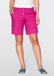 Stretch-Bermuda, bpc bonprix collection, mittelfuchsia