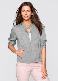 Leichte Blouson-Jacke, bpc bonprix collection, neutralgrau